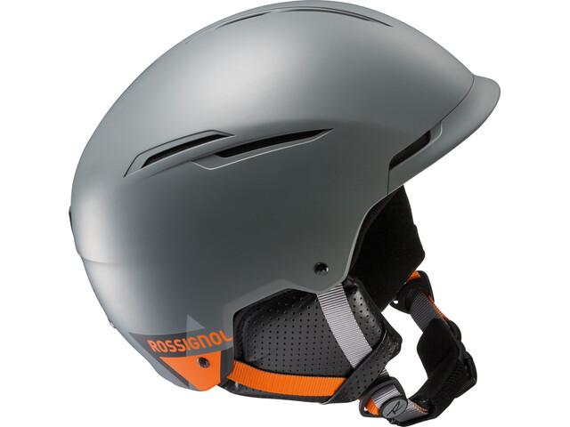 Rossignol Templar Impacts - Casco de bicicleta Niños - gris/naranja